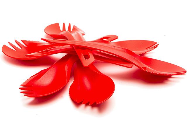 Wildo Set Tenedores, red